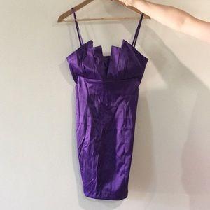 Bebe purple dress